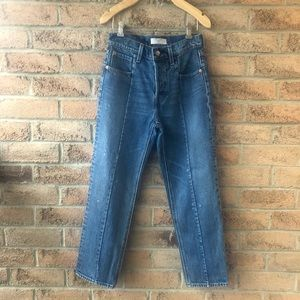 **SALE** LEVI'S | Blue straight leg altered jean